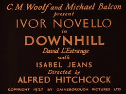 Downhill (1927) Alfred Hitchcock | the Movie title stills collection